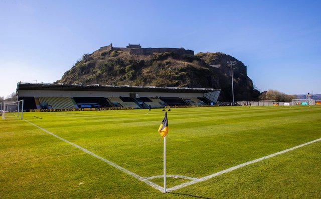 A view of C&G Systems Stadium, home of Dumbarton. Picture: SNS