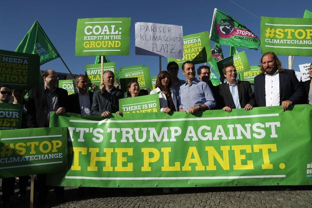 Donald Trump removed the US from the Paris agreement in November, 2020, sparking outcry (Getty Images)