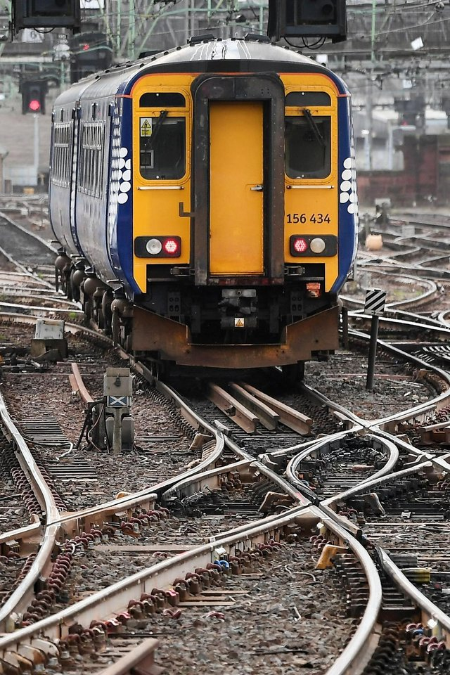 Network Rail Scotland are putting plans in place to cope with tomorrow's heavy rain and high winds