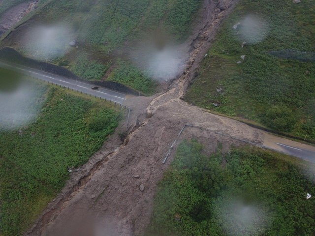 Landslides have regularly blocked the A83 at the Rest and Be Thankful pass. Picture: BEAR Scotland
