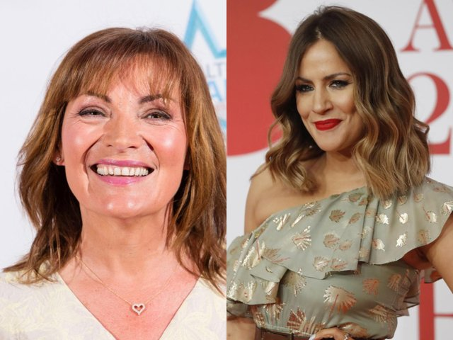 Lorraine Kelly has been criticised for joking about Caroline Flack after she left her job as Love Island host (Getty Images)