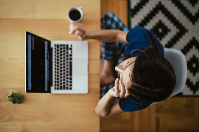 Scottish employers are now more likely to saythe shift to homeworking has boosted productivity than inJune 2020. Picture: Getty Images/iStockphoto.