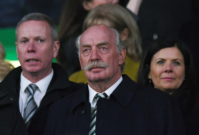 Celtic majority shareholder Dermot Desmond. Picture: SNS