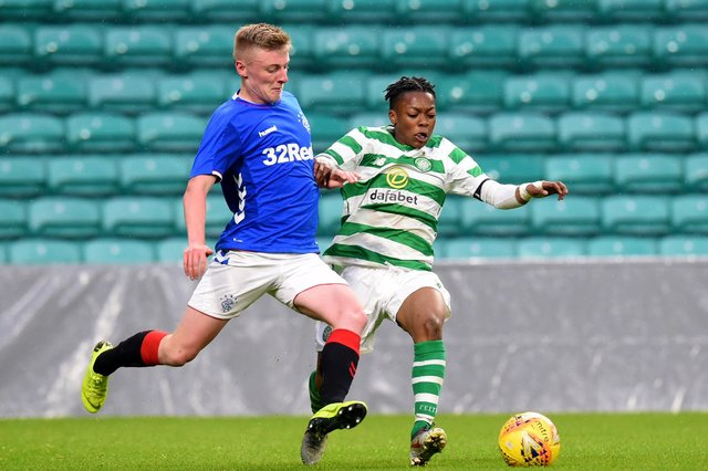 Celtic and Rangers' Under-20s compete in the City of Glasgow Cup final. The new plans could see both teams playing in the Lowland League next season