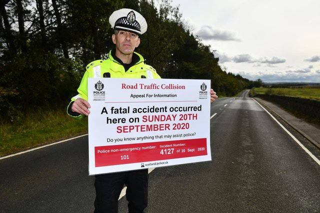 Pedestrians killed last year included a man hit by a vehicle on the B792 between Torphichen and Bathgate. Picture: Michael Gillen