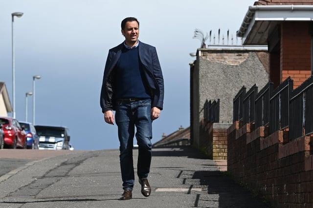 Scottish Labour leader Anas Sarwar. Picture: John Devlin