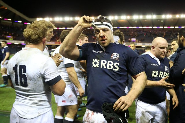 Alasdair Dickinson was capped 58 times by Scotland. Picture: Lynne Cameron/PA