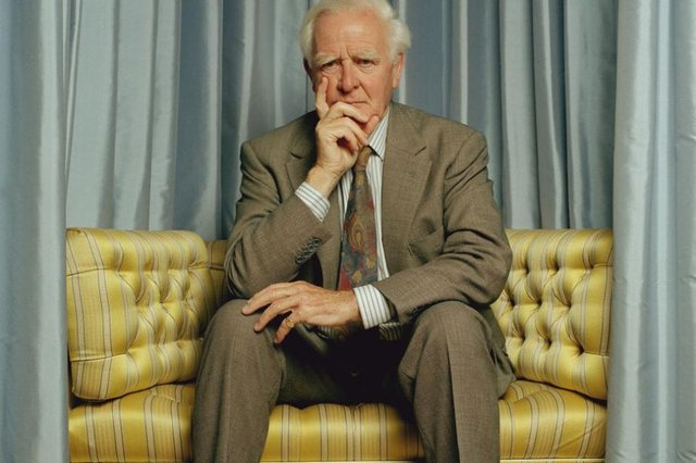 John le Carre pictured in August 2005 (Photo: Eamonn McCabe/Popperfoto via Getty Images)