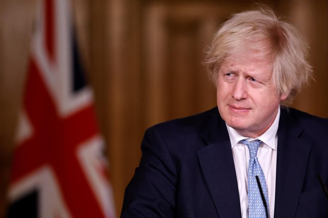Prime Minister Boris Johnson suggested greed was good and had helped the UK procure the vaccines