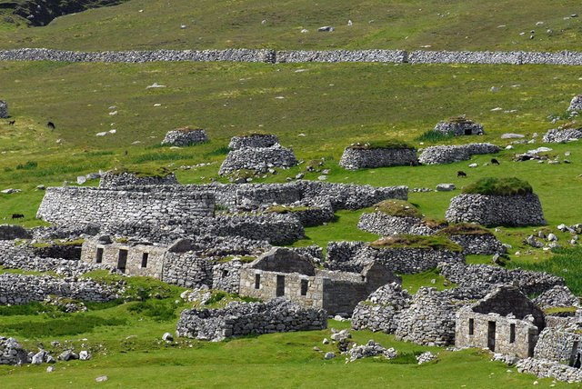 St Kilda, one of the westernmost islands of the Outer Hebrides, Scotland, one of the stops on Hurtigruten's 15-day Picturesque Ports, Isolated Islands & Wonderful Wildlife trip on MS Maud, which also visits scenic Fort William.