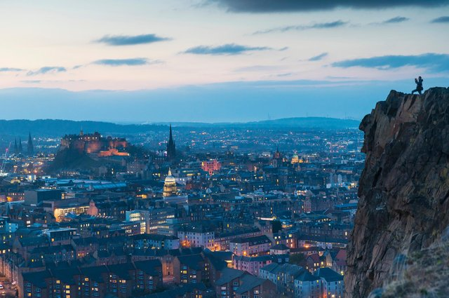 Edinburgh's normally-thriving tourism industry has been devastated this year. Picture: VisitScotland/Kenny Lam