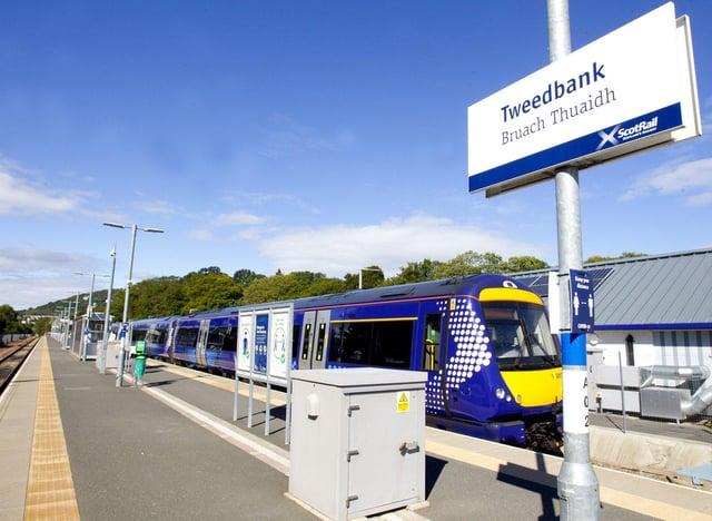 The current Borders Railway terminus at Tweedbank. Picture: Bill McBurnie