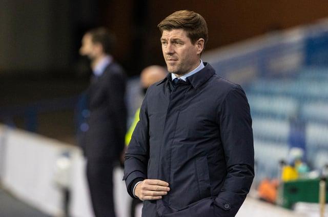 Rangers boss Steven Gerrard.