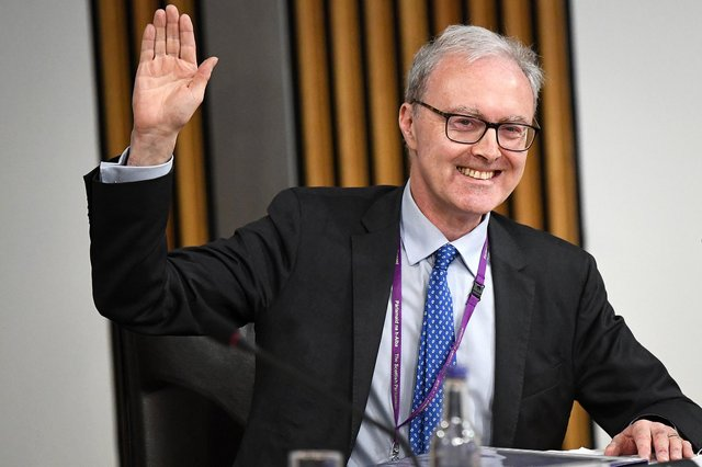 James Wolffe giving evidence to the Holyrood inquiry into the handling of harassment allegations against former first minister Alex Salmond. Picture: Jeff J Mitchell/Getty Images
