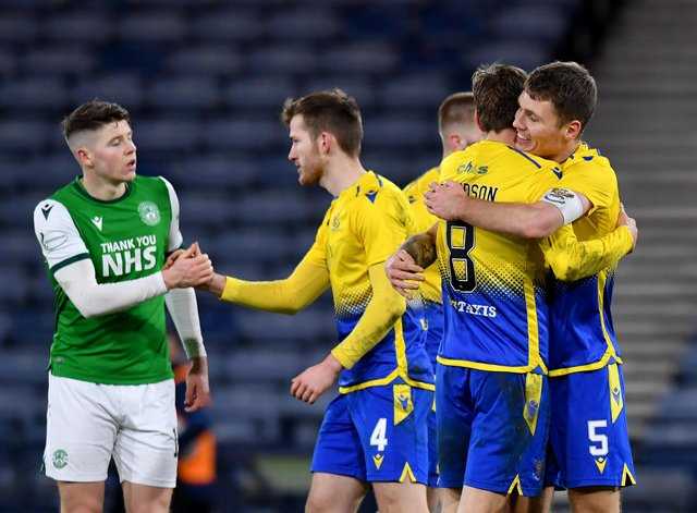 St Johnstone celebrate as Kevin Nisbet reflects on a second semi-final defeat with Hibs, a stint which may not last much longer