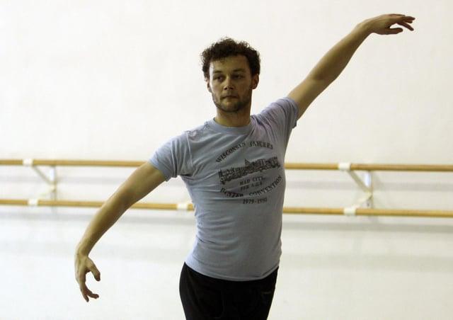 Choreographer Liam Scarlett has died aged 35. (AP Photo/Lynne Sladky, file)