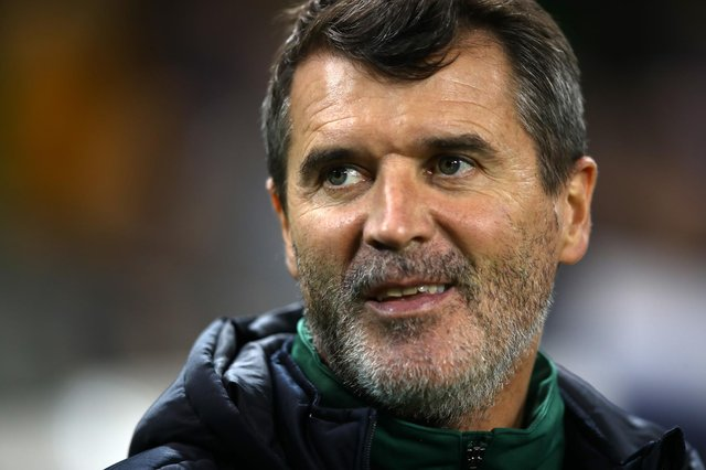 Roy Keane is being talked up as the next Celtic manager more because of his profile than the possibility of this coming to pass. (Photo by Dan Istitene/Getty Images)