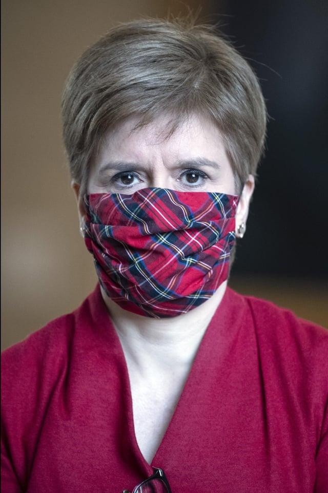 "Nicola Sturgeon has kick-started the SNP's election campaign with a pledge to ""rebuild Scotland""."