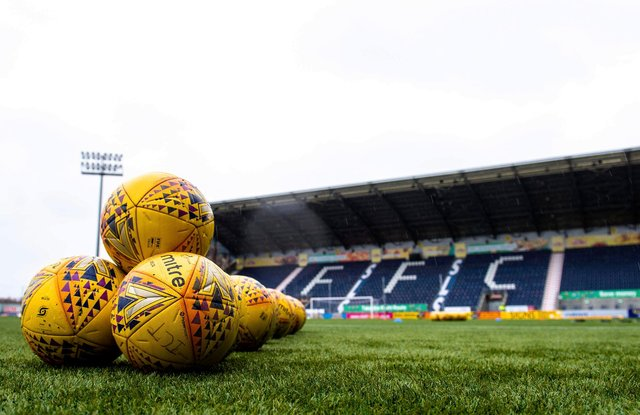 Falkirk reacted to reports of request from promoted trio to help with legal costs. Picture: SNS