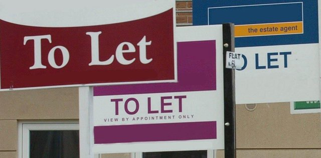 Generic To Let sign