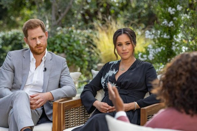 The row over Prince Harry and Meghan's claims about the royal family should not be dismissed as trivia (Picture: Harpo Productions/Joe Pugliese via Getty Images)