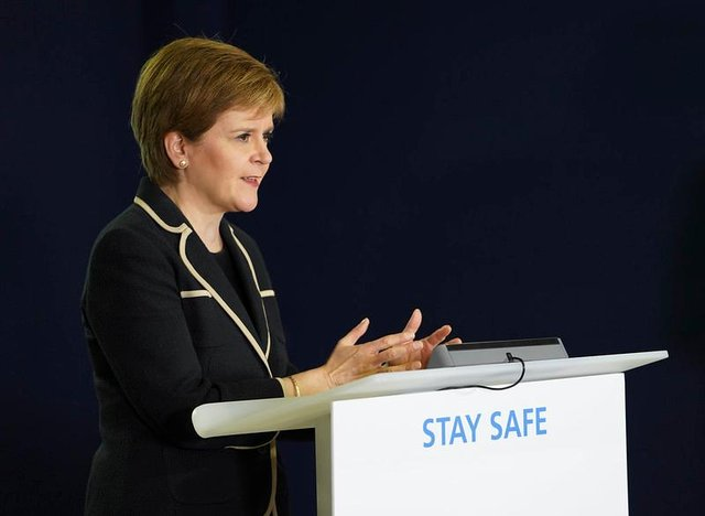 Nicola Sturgeon has suggested the Scottish Government's response to Covid-19 may change in the coming months.