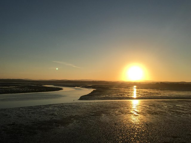Sunset at Montrose Basin, a wildlife reserve and tidal basin which is included in a new Insider's Guide to Angus which has been inspired by the favourite places locals retreated to during lockdown. PIC: Contributed.