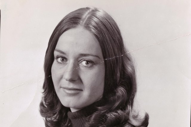G Susan Bell in younger days