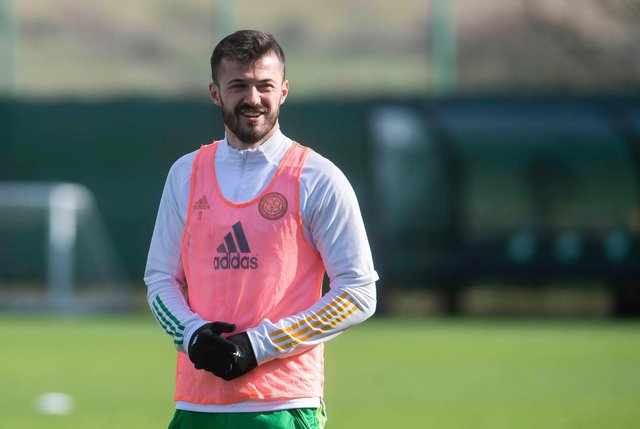 Albian Ajeti has been made Celtic captain for Wednesday's friendly match against Sheffield Wednesday. Picture: SNS