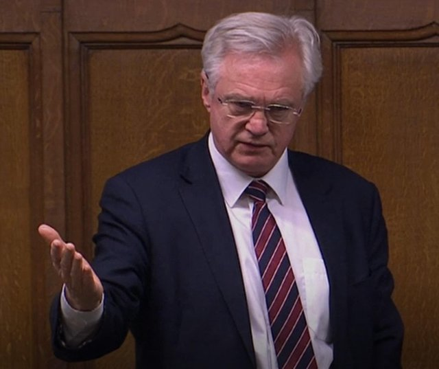 David Davis suggested Nicola Sturgeon's alleged misleading ofScottish Parliamentwould be seen very differently if she'dapologised and admitted she may have made a mistake.