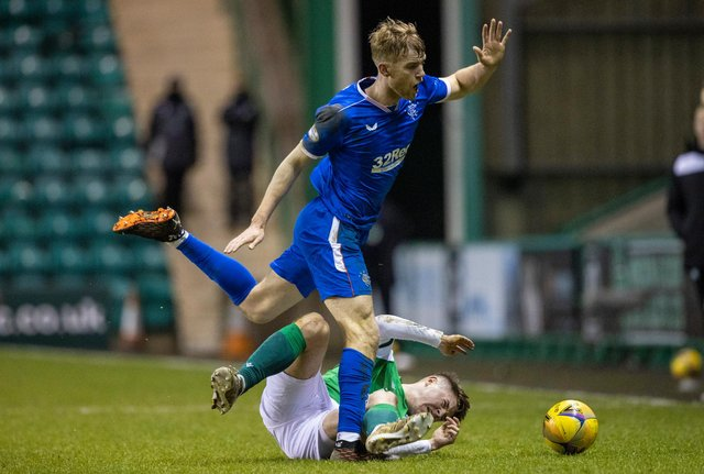 Filip Helander had a strong performance at Easter Road. Picture: SNS