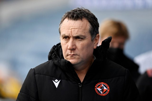 Dundee United manager Micky Mellon is looking forward to returning to Hampden for a Scottish Cup semi-final v Hibs (Photo by Rob Casey / SNS Group)
