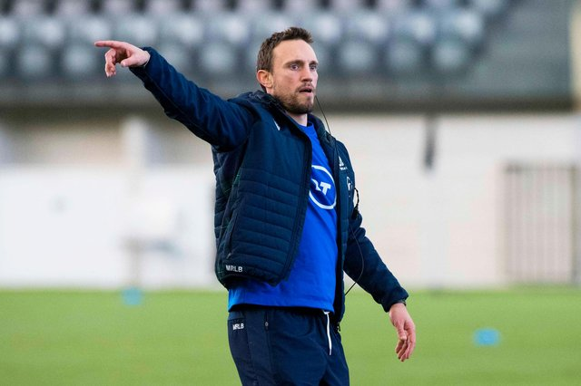 Mike Blair, Scotland's interim head coach, faces two tough Tests in the July heat against Romania and Georgia. Picture: Paul Devlin/SNS