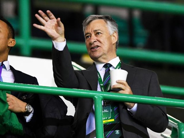 Hibs Owner Ron Gordon has sealed strategic partnerships with Stenhousemuir and Charleston Battery inside the past year. (Photo by Alan Harvey / SNS Group)