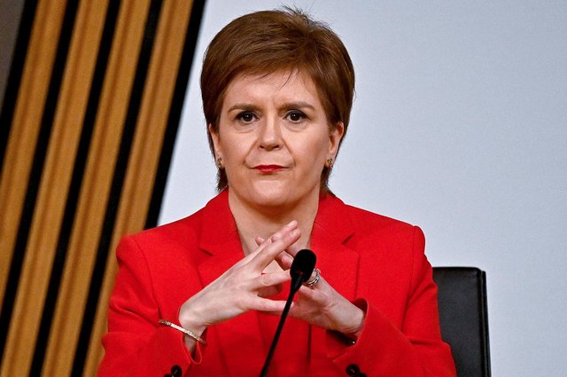 First Minister Nicola Sturgeon giving evidence to the Committee on the Scottish Government Handling of Harassment Complaints, at Holyrood in Edinburgh, examining the handling of harassment allegations against former first minister Alex Salmond.