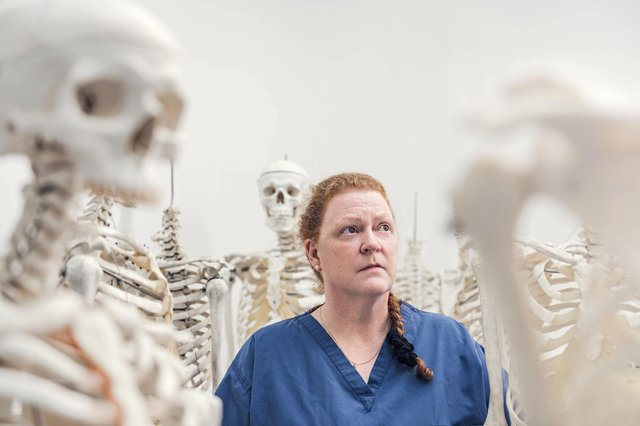 World-leading anatomy and forensic anthropologist Professor Dame Sue Black
