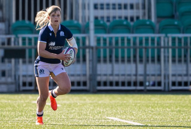 Hannah Smith has been selected for the GB sevens squad for the Olympic Games. Picture: Ross MacDonald/SNS