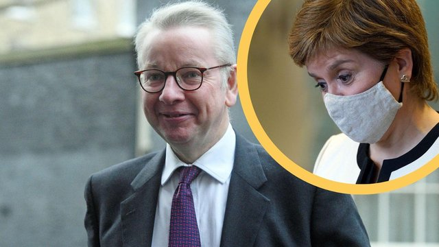 The First Minister has saidMichael Gove's use of publicmoney meant for covid recovery for party campaigning is a 'scandal' after the High Court deemed his actions 'unlawful.'