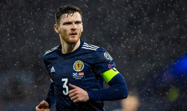 Scotland captain Andrew Robertson. Picture: SNS