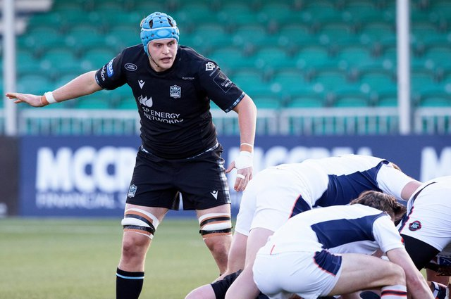 Scott Cummings in action for Glasgow Warriors in the Rainbow Cup/1872 Cup win over Edinburgh at Scotstoun. Picture: Craig Williamson/SNS