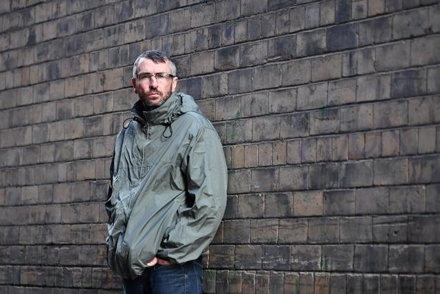 Peter Krykant. Picture: John Devlin