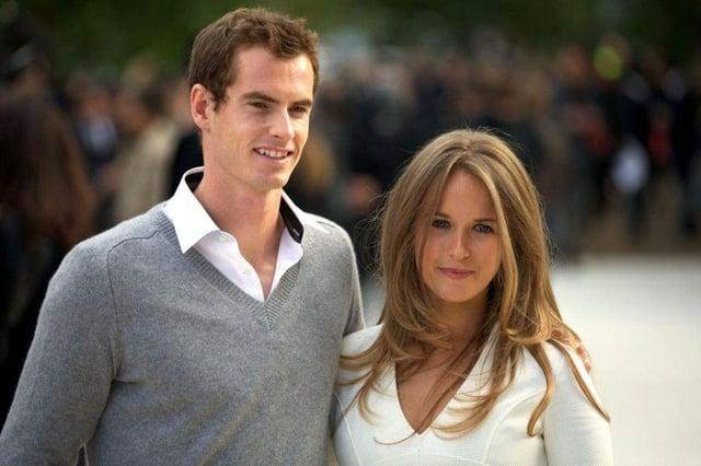 Andy Murray and Kim Sears.