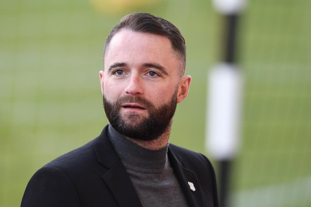 Manager James McPake believes Dundee deserve a bit of luck (Photo by Ross Parker / SNS Group)