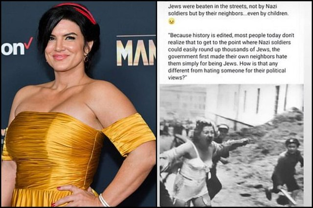 Image result for gina carano jew tweet
