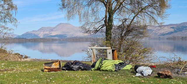 Loch Lomond: More than 1000 bags of litter cleared from Loch Lomond National Park in just one month