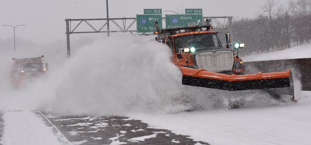 A Minnesota snowplough in action. Picture: MNDOT/DRG