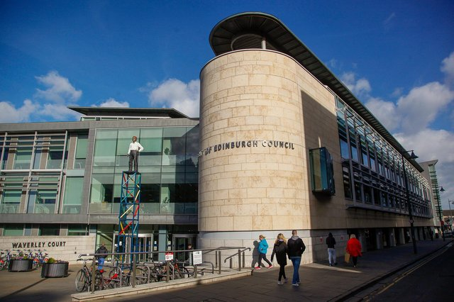 Edinburgh city council's Waverley Court HQ