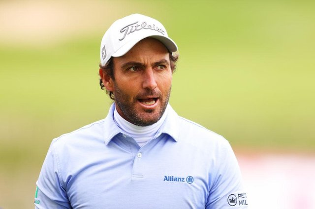 Edoardo Molinari during the third round of the Betfred British Masters hosted by Danny Willett at The Belfry in Sutton Coldfield. Picture: Richard Heathcote/Getty Images .
