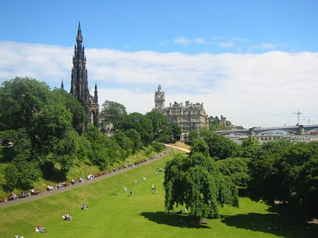 Police are carrying out enquiries after receiving a report that a 16-year-old girl was seriously sexually assaulted in Princes Street Gardens yesterday evening. Pic: Google Maps