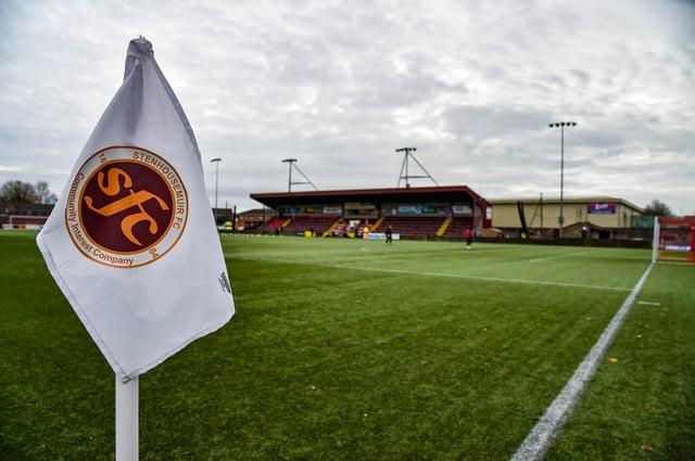 Ochilview plays host to Stenhousemuir v Kilmarnock in the Scottish Cup.